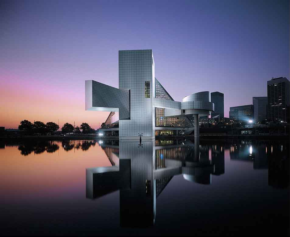 Ieoh Ming Pei Rock and Roll Hall of Fame Cleveland Ohio