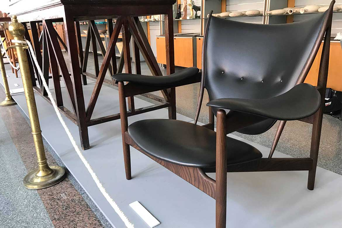 Chieftain chair designed by Finn Juhl 1949