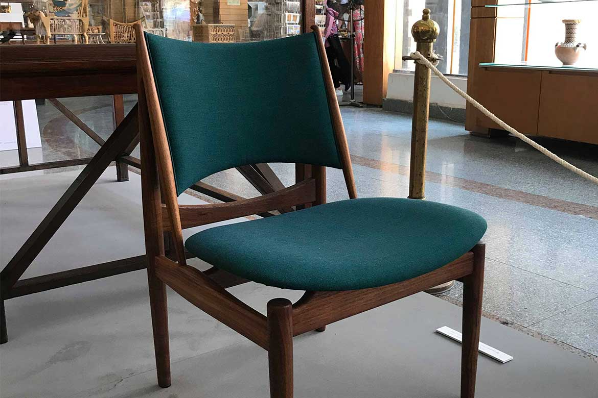 Egyptian Chairdesigned by Finn Juhl 1949