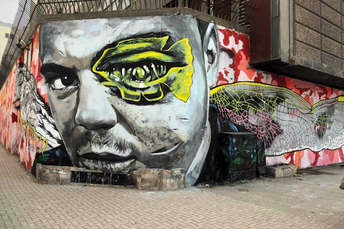 Street art in Cairo streets- From 'Walls of Freedom' Book