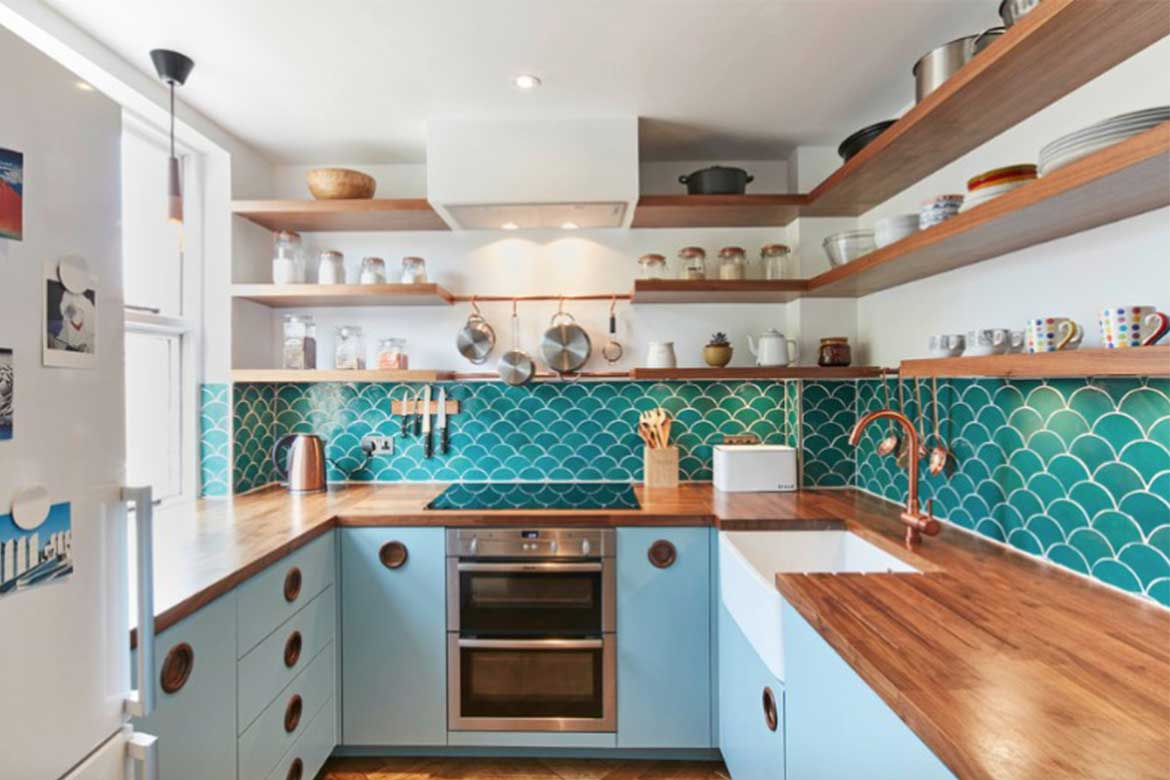 Finch Mid-century patterned interior- Photo from FinchLondon.comLondon