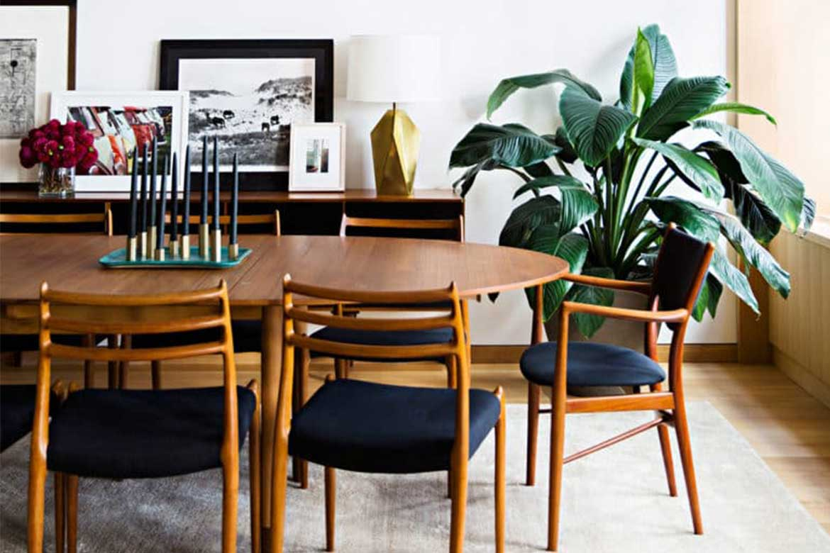 Implementing natural plants in interior- Photo from: inspirationdesignbooks.com
