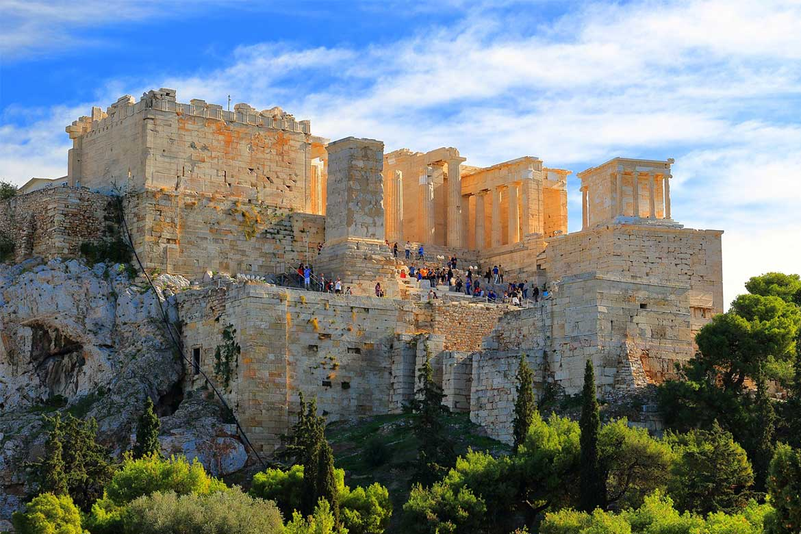 Pathway to the Acropolis
