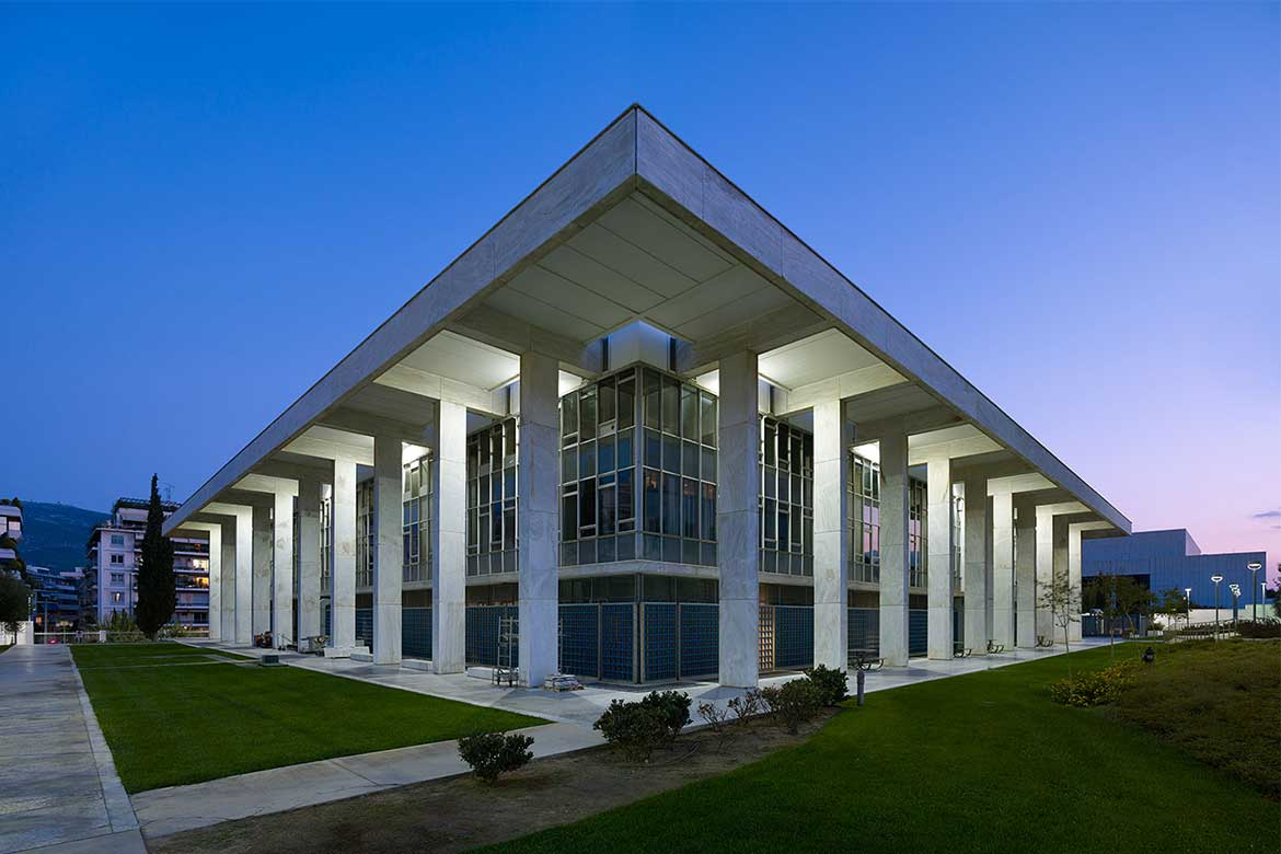 USA Embassy in Athens - Photo courtesy: economia.gr Architecture in Athens