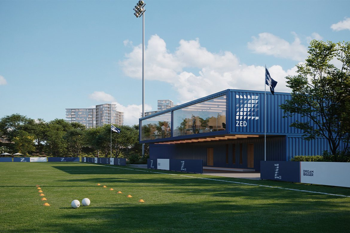 sports facility sheikh zayed zed park Egypt Cairo Shipping Container