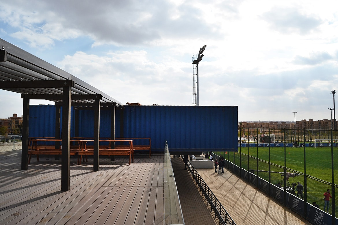 Shipping Container Architecture Cairo Egypt 6 October City