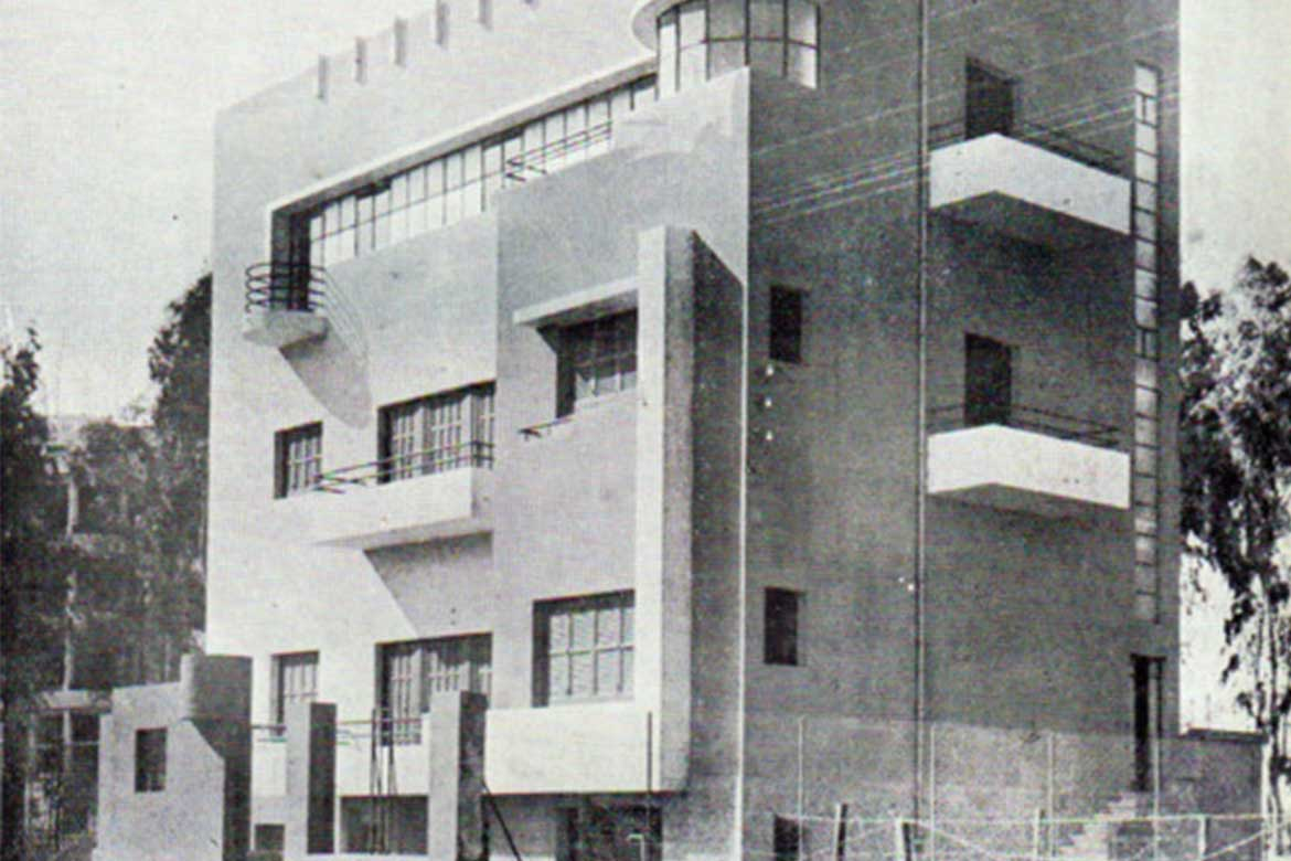 Villa for Mme Valadji by architect Charles Ayrout 1938-39 - Photo courtesy: cairo observer