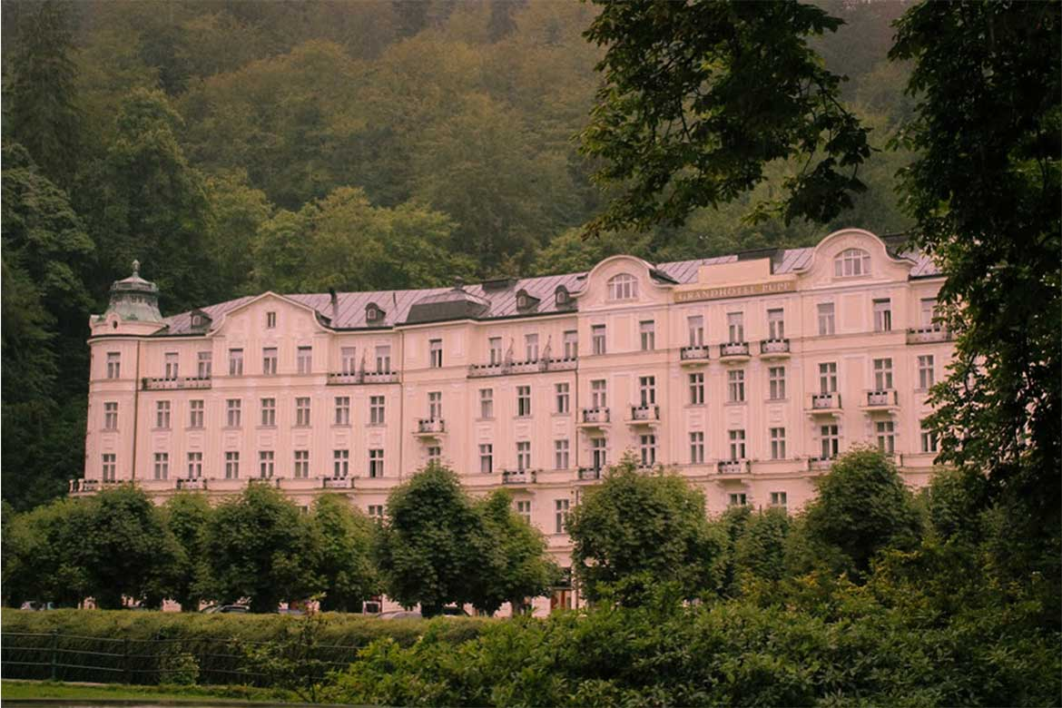 The Grandhotel Pupp in Karlovy Vary - Photo from: Google