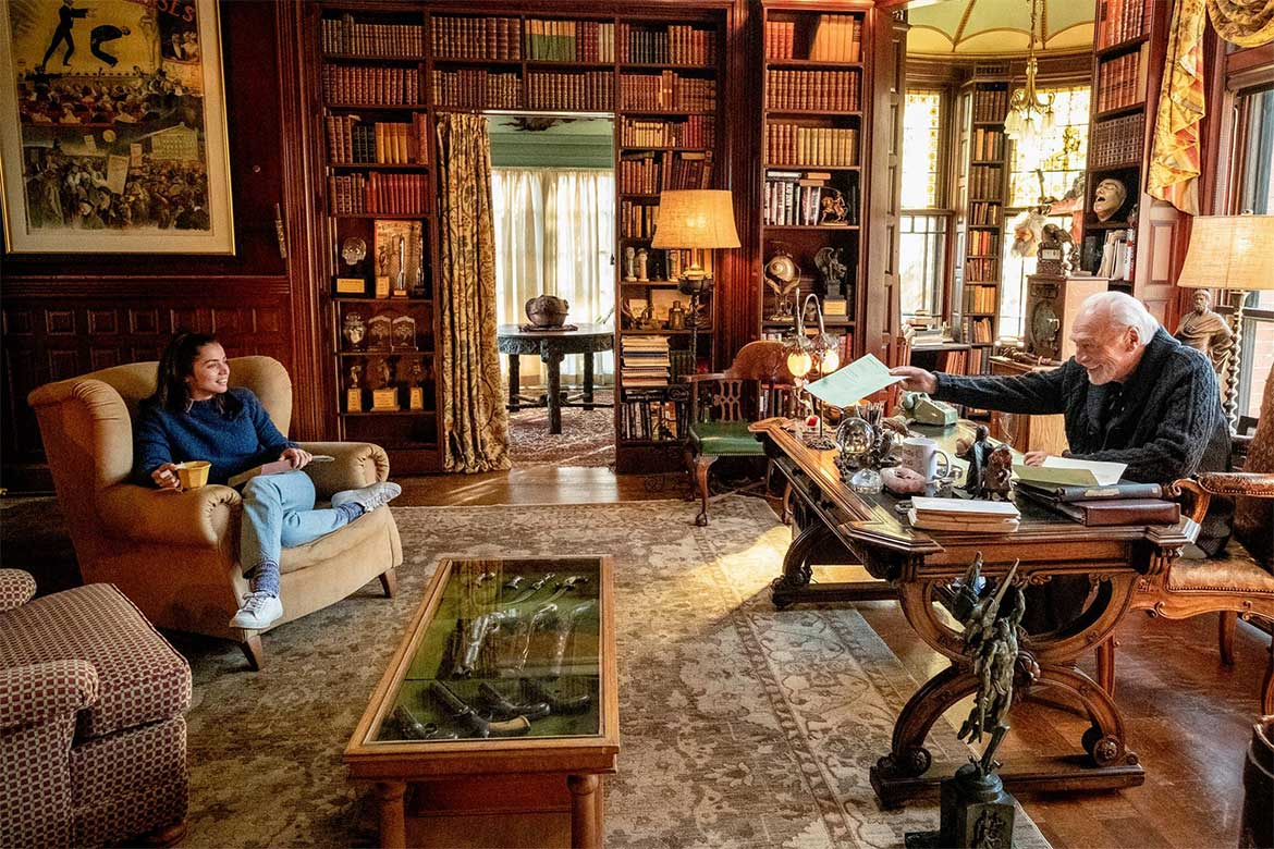 The interior set design in Knives Out - Photo courtesy: Claire Folger/Lionsgate