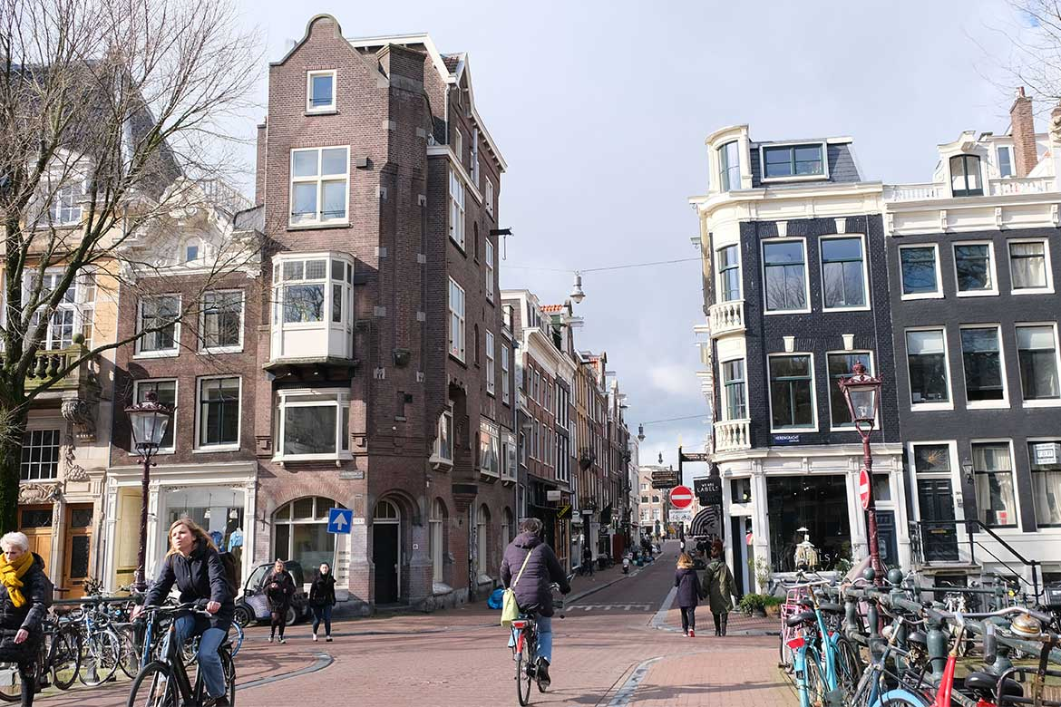 Cycling around Amsterdam - Photo courtesy: Linesmag