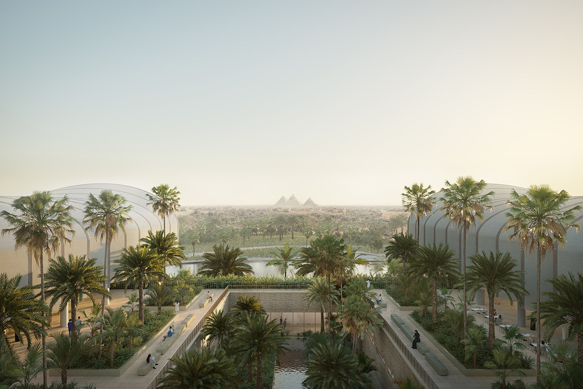 Magdi Yacoub Centre by Norman Foster